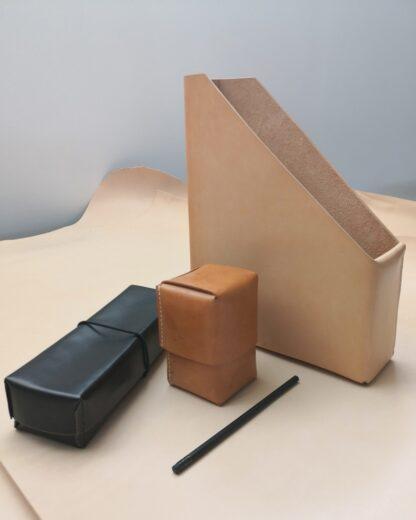 kernelæder stationary til skrivebordet